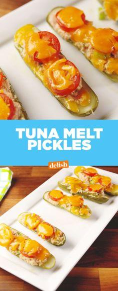 Tuna Melt Pickles