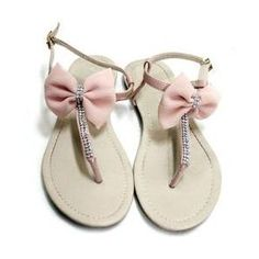 Bow Sandals!!