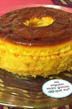 Is this the tastiest pudding in the world? Is this the tastiest pudding in the world? Köstliche Desserts, Delicious Desserts, Dessert Recipes, Portuguese Desserts, Portuguese Recipes, Other Recipes, Sweet Recipes, My Recipes, Bon Dessert