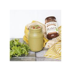 Monday's post-workout green protein smoothie! With baby kale and @mayversfood's cacao peanut spread! Creamy, macro-friendly, vegan and totally yummy!
