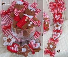 Guirnalda Navidad galleta jengibre. Taller Online..