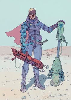 F1x-2: The Cyber-Apocalyptic Art of Josan Gonzalez