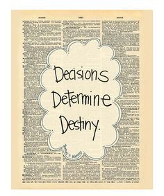 Love this 'Destiny' Dictionary Print by Doodli-Do's on #zulily! #zulilyfinds