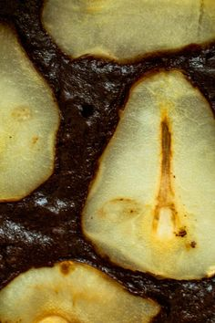 Hazelnut + Pear Fudge Brownies