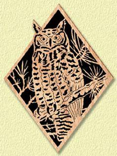 Owl Diamond Project Pattern