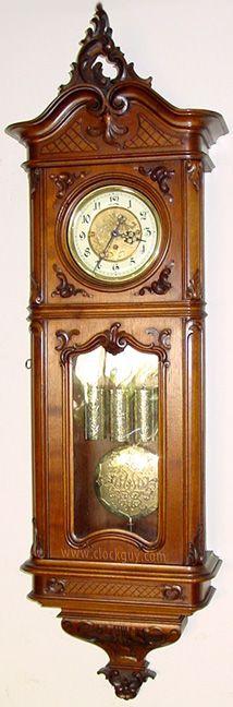 Gustav Becker Baroque  Grand Sonnerie Vienna Regulator ~ Antique Clocks Guy
