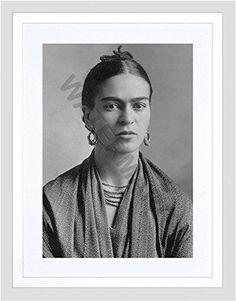 Photo Kahlo Artist Frida Kahlo Small Framed Art Print F97x13446