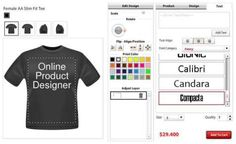 Driven by ever-evolving consumer-centric approaches to the perfect t-shirt design, Online-Product-Designer is a feature-rich, robust and the highly responsive custom t-shirt design tool that lets one to have custom t-shirts online. This online t-shirt designer tool to add a personal touch to your t-shirts is wholesome of creative t-shirt designers.