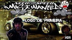 NÃO AGUENTEI DE TANTO RAGE E PIREI !! Need For Speed Most Wanted #01