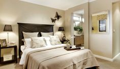 Light Brown Grey Walls a Neutral Look