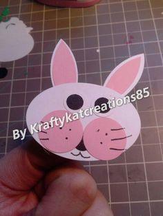 Bunny habdmade embellishments