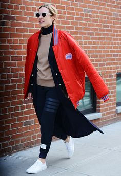 J'adore ce look sporty chic