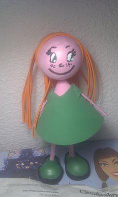 Mueñca tarta (creada por mi y unas amigas)