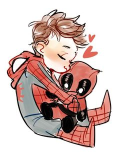 #spideypool #childspiderman #chibideadpool