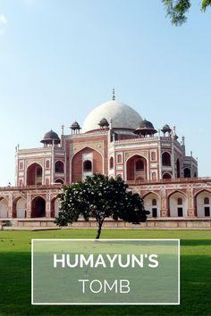 Visite de Humayun's Tomb, New Delhi