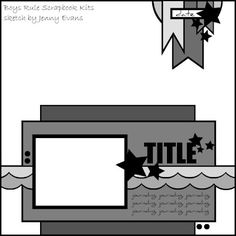 Boys Rule Kits Sketches