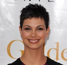 Short Pixie Haircut for Women: The Pixie cut are ultra-short-feminine hairstyles that are popular in Super Short Hair, Short Grey Hair, Short Black Hairstyles, Short Pixie Haircuts, Short Hair Cuts For Women, Pixie Hairstyles, Hairstyles Haircuts, Short Hair Styles, American Hairstyles