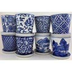 World Menagerie Lokman Porcelain Pot Planter Set Clay Pot Crafts, Diy Home Crafts, Crafts To Make, Napkin Decoupage, Decoupage Tutorial, Decorated Flower Pots, Painted Flower Pots, Mod Podge Crafts, Outdoor Flowers