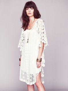 Free People Nicoles White Story Limited Edition Dress, $700.00