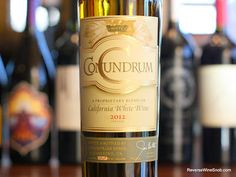 The Reverse Wine Snob: Conundrum White Wine 2012 - Problem Solved. Looking for a tasty, fun and food flexible white for your holiday parties? http://www.reversewinesnob.com/2013/12/conundrum-white-wine.html