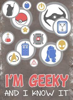 I am geeky!