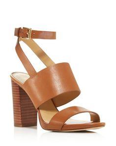 aead17c116497 MICHAEL Michael Kors Arden High Block Heel Sandals - 100% Exclusive