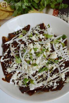 Cómo hacer chilaquiles con mole (fáciles & rápidos)