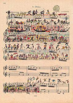 (15) Илустрирани партитури полни со живот