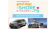 2017 Ford Edge Sport Utility Vehicle Giveaway! - http://gimmiefreebies.com/2017-ford-edge-sport-utility-vehicle-giveaway/ #Ford #SUV #Sweeps #Sweepstakes #Trip #ad