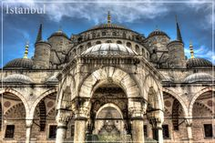 Blue Mosque - Istanbul, Turkey #travel
