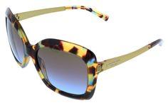 Michael Kors MK2007 KEY WEST 303148 Ocean Confetti Square Sunglasses