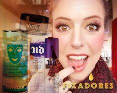 Tipos de fixadores de maquiagem. Paola Gavazzi TRUQUES DE MAQUIAGEMBeleza com Autoestima - Medium