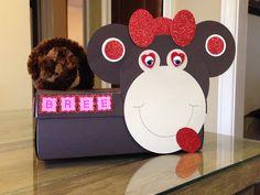 Monkey Valentine Box
