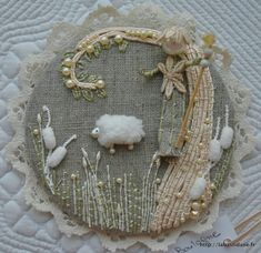 Gorgeous French embroidery site