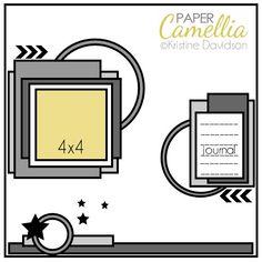 Sketch Challenge | Paper Camellia (Kristine Davidson)