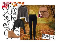 """""""Romwe"""" by naida-piric ❤ liked on Polyvore featuring J Brand, The Wolf Gang and Superdry"""