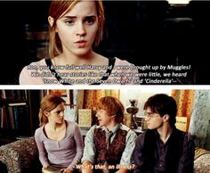 What will always bother me most about the dynamics of the trio in the movies. There were some things Harry and Hermione simply did not (and could not) know, things only Ron could divulge. Taking that away from him, no matter the reason, ruined the balance of their friendship.