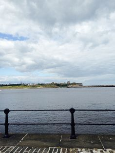 View of tynemouth from South Shields pier