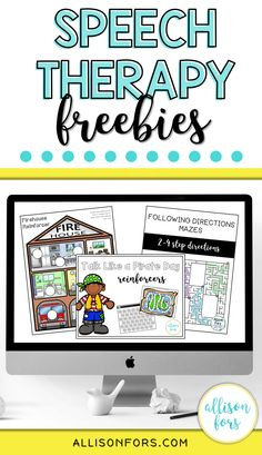 A growing library of free speech therapy printable activities. Use this free website to plan your sessions for back to school or year round! Articulation Therapy, Articulation Activities, Speech Therapy Activities, Speech Language Pathology, Language Activities, Speech And Language, Toddler Speech Activities, Free Activities, Play Therapy Techniques