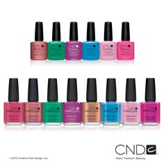 The CND Spring 2016 Art Vandal Collection in SHELLAC™ Brand 14+ Day Nail Color and VINYLUX™ Weekly Polish | COMING SOON TO BC