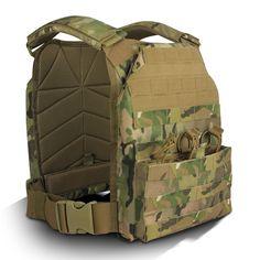 Basic Plate Carrier BPC with T-34 Soft Armor Inserts - TYR Tactical - Plate Carrier, Body Armor, Tactical Gear, Tactical Armor