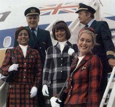 British Caledonian crew