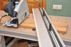 Мобильный верстак MFTC Festool Kapex, Workbench Designs, Joinery, Woodworking Shop, Tool Box, Desk, How To Plan, Wood Working, Storage