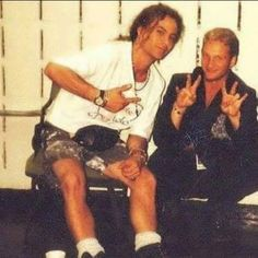 Mike Starr and Layne Staley LSMLS