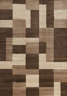 Tapis brun et beige / Beige and brown carpet