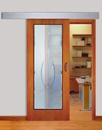 porta madeira correr com vidro - Pesquisa Google