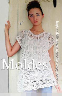 Delicadezas en crochet Gabriela: Tùnicas