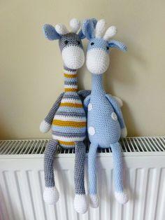 Amigurumi giraffe by Kornflake.stew, via Flickr on ravelry