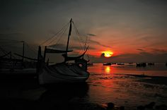 sunrise on the beach Bintaro