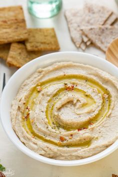 Simple & Easy Hummus Without Tahini